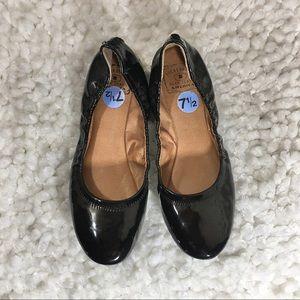 Lucky Brand (Erin) Black Patent Ballet Flats